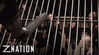 Z NATION   Season 4, Episode 5 Clip: Give the Slip   SYFY