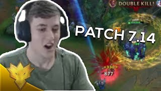 TSM Svenskeren - WELCOME to PATCH 7.14 - League of Legends Highlights & Funny Moments