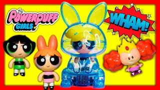 POWERPUFF GIRLS Bubbles Power Pod Adventure Morbucks and Mojo Steals Power Pods Cartoon Network Vide