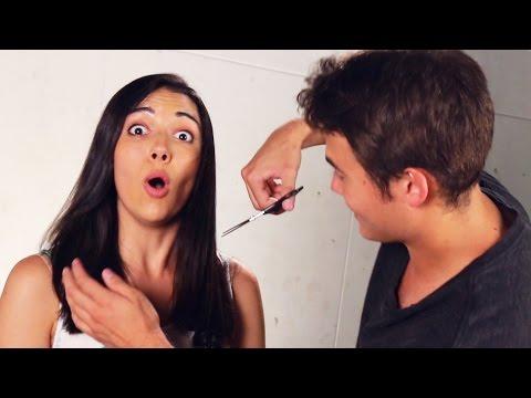 Boyfriends Cut Their Girlfriends Hair