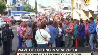 Wave of looting in Venezuela