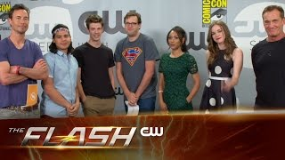 The Flash | Comic-Con 2015 Q&A: Part 1 | The CW