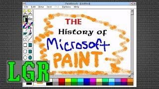 History of Microsoft Paint 1985 - 2017 [LGR Retrospective]