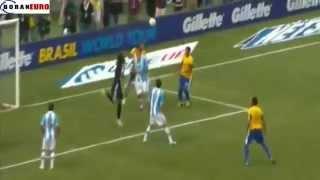 ملخص أهداف مباراة الارجنتين 4-3 البرازيل /هاتريك ميسي