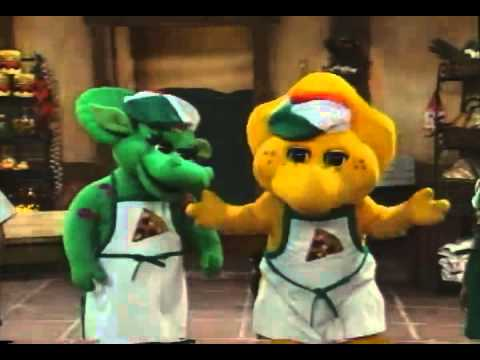 Barney s Adventure Bus Trailer 1998