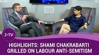 Highlights: Shami Chakrabarti Grilled on Labour Party Anti-Semitism | J-TV