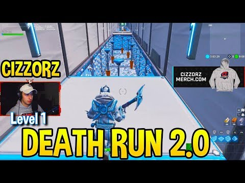 CIZZORZ DEATHRUN 2.0 IMPOSSIBLE OBSTACLE COURSE Level 1 10