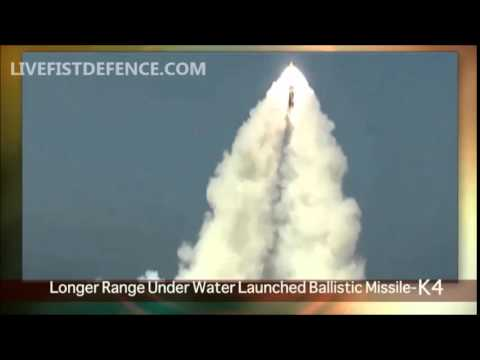 1st Official Word On India's K4 Long-Range SLBM