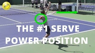 Serve Power Tip: The #1 Serve Power Position