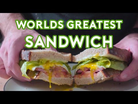 Binging with Babish World s Greatest Sandwich from Spanglish
