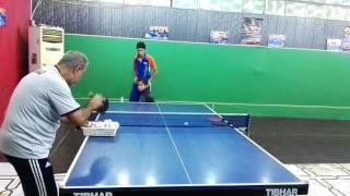 تدريبات لاعبين تنس الطاولة العراقية بأشراف اللاعب احمد عبد الحسن
