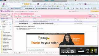 How to transfer Yahoo Domain To GoDaddy.mp4
