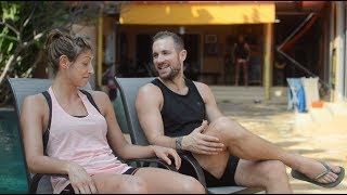 (SPA) Interview: Young couple training Muay Thai