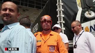 Volunteers prepare US aid for Venezuela in Colombia