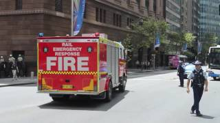 Fire And Rescue NSW - Flyer 1 (SEV), Rail Emergency Response And Pump 3 (SEV)
