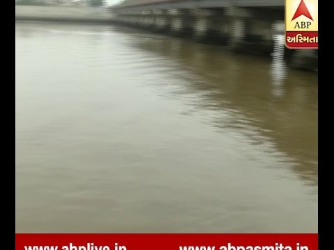 Riverfront Walk Way Closed After Rain Water Over Flaw In Sabarmati River