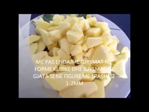 Receta Gatimi Tortë me mollë Tryeza