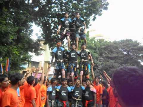Suvichar bal mitra mandal dahi handi pathak 2012 new stile