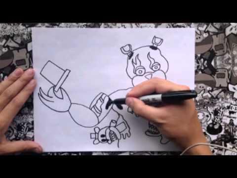 Xxx Mp4 Como Dibujar A Nightmare Freddy Opción 1 3gp Sex