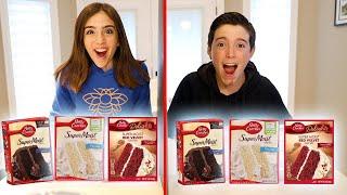 TWIN TELEPATHY CAKE CHALLENGE!!