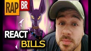 REACT Rap do Bills (Dragon Ball Super) | Tauz RapTributo 60 ( TAUZ ) | ‹ TIAGO REACT ›
