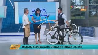 Ini Dia Sepeda Kayu Bertenaga Listrik