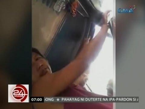 24 Oras Babaeng pasahero inireklamo ang jeepney driver na nanghipo raw sa kanya