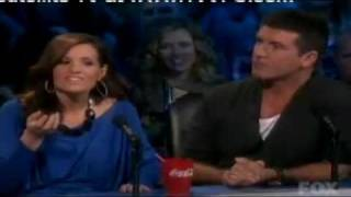 miley cyrus judge on american idol.flv part 1