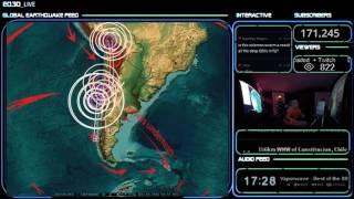 12/09/2016 -- Japan , Midwest US (Oklahoma) ,  Mideast + Europe on Earthquake watch
