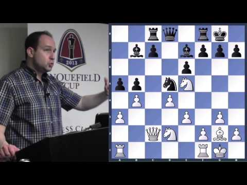 Lecture with GM Ronen Har-Zvi (Spot Weaknesses and Attack!) - 2013.12.18