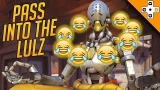 Overwatch Funny & Epic Moments 143 - PASS INTO THE LULZ - Highlights Montage