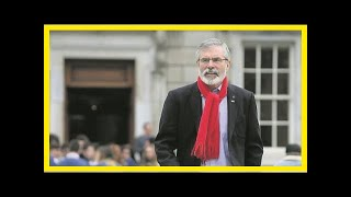 NEWS 24H - Brexit response: gerry adams welcomed the deal but admitted it did not refer to the key