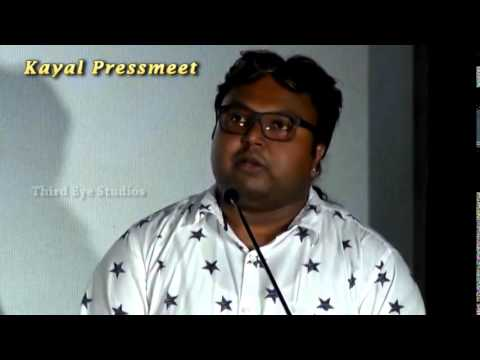 Kayal - Very important movie for our team  D Imman Speech  Kayal  Launch & Press Meet