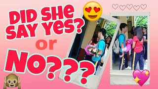 Will you be my GIRLFRIEND? ☺😍💑❤ (IRENE & VICENTE)