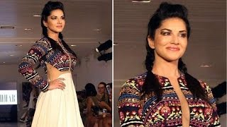 New York Fashion Week 2016 | Sunny Leone Sets the Ramp on Fire as she Walks for Archana Kochhar