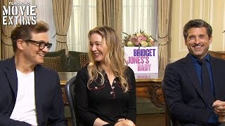Bridget Jones s Baby (2016) - Renée Zellweger, Patrick Dempsey & Colin Firth talk about the movie