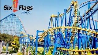 Los Mejores Juegos de Six Flags México 2015