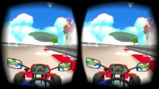 【Oculus Riftプレイ動画】まるでマリオカート!?VRで熱いカートレース『VR Kart』