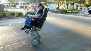 IBOT 4000 Wheelchair Handicap Disabled Stair climbing Gravity defying!!