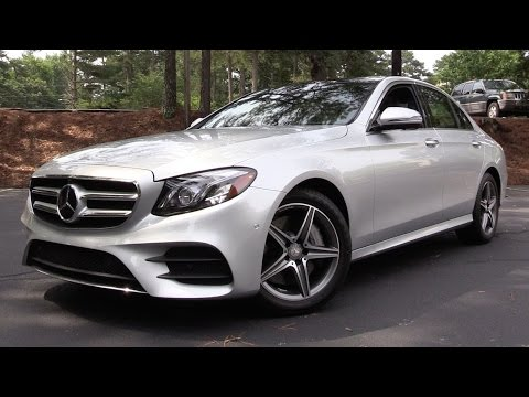 2017 Mercedes-Benz E300 - Start Up, Road Test & In Depth Review