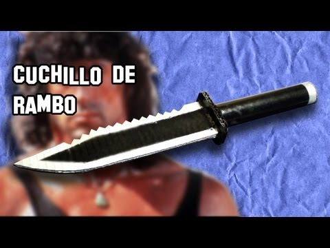 watch ✔ Cómo Hacer el Cuchillo de Rambo | How to Make Rambo knife