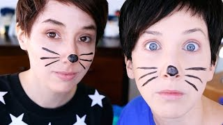 some bloopers from our dan & phil challenge | Hillywood®