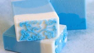 Soap Challenge - Impression Mat Cold Process Soap