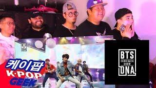 BTS (방탄소년단) COMEBACK SHOW DNA & MIC DROP STAGE REACTION #BTS_DNA_REACTION