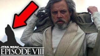 Star Wars Episode 8 Darth Vader's Tomb Stone + Luke Skywalker Explained