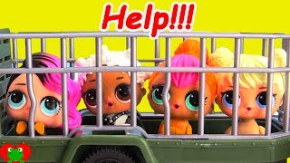 LOL Surprise Pets Wrong Heads Locked Up Shimmer and Shine Doc McStuffins Rescue