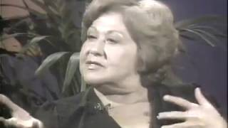 Sylvia Syms, Hugh Downs--They All Laughed, 1978 TV Interview