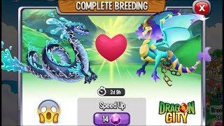 Dragon City: Water Storm Dragon vs Soul Eater Dragon [EXCLUSIVE BREEDING]