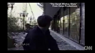 Reporters duck and weave as bombs drop