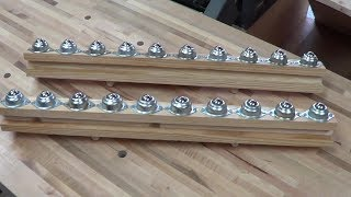 Quickies:  Table Saw Outfeed Rollers